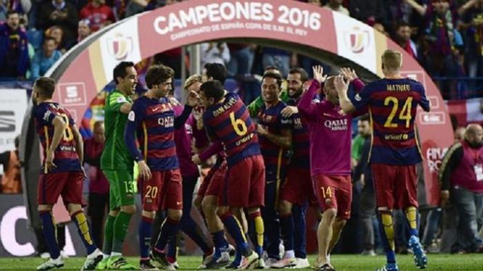 Barcelona Juara Copa del Rey