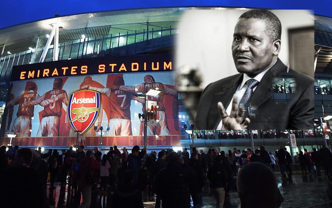 Pengusaha Kaya Nigeria Ingin Beli Arsenal