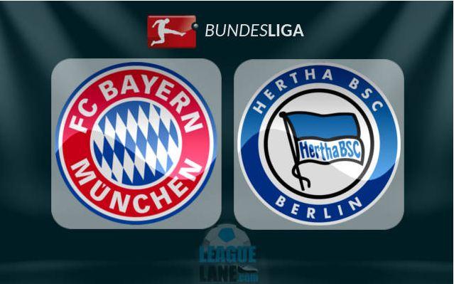 Prediksi Bola Bayern Munich VS Herta Berlin