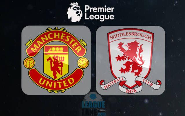 Prediksi Boxing Day : Manchester United vs Middlesbrough