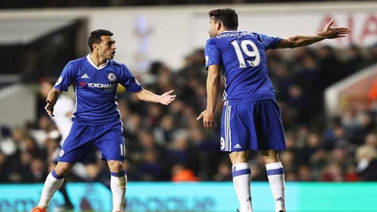 Costa Dan Pedro Terlibat Adu Mulut Kontra Spurs