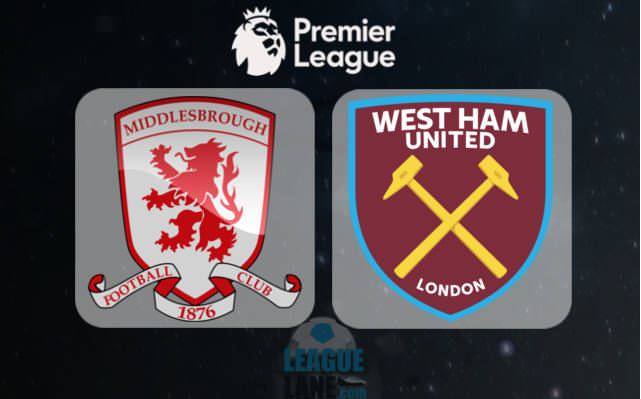 Prediksi Middlesbrough vs West Ham