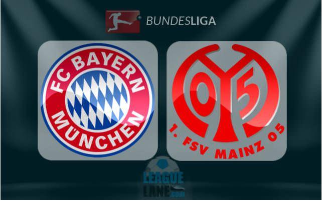 Prediksi Bayern Munich vs FSV Mainz 05