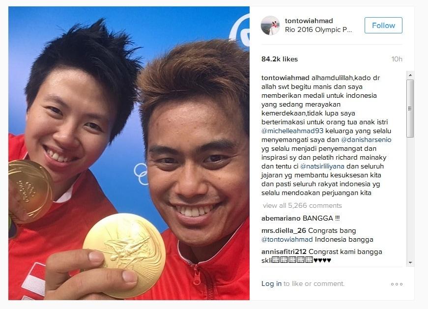 Hal Unik Dari Medali Emas Persembahan Tontowi/Liliyana