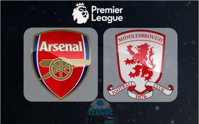 Prediksi Arsenal vs Middlesbrough