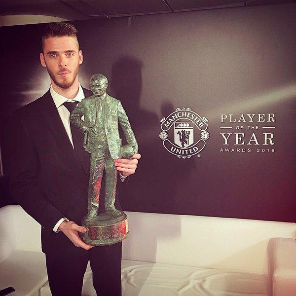 Mourinho Harap De Gea Tak Menangkan Pemain Terbaik Lagi Musim Ini