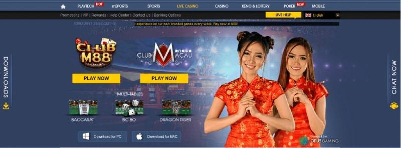 m88 live casino