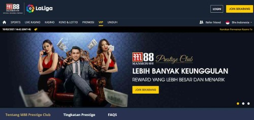 Bonus Sambutan Live Kasino – Promosi Terbaru M88